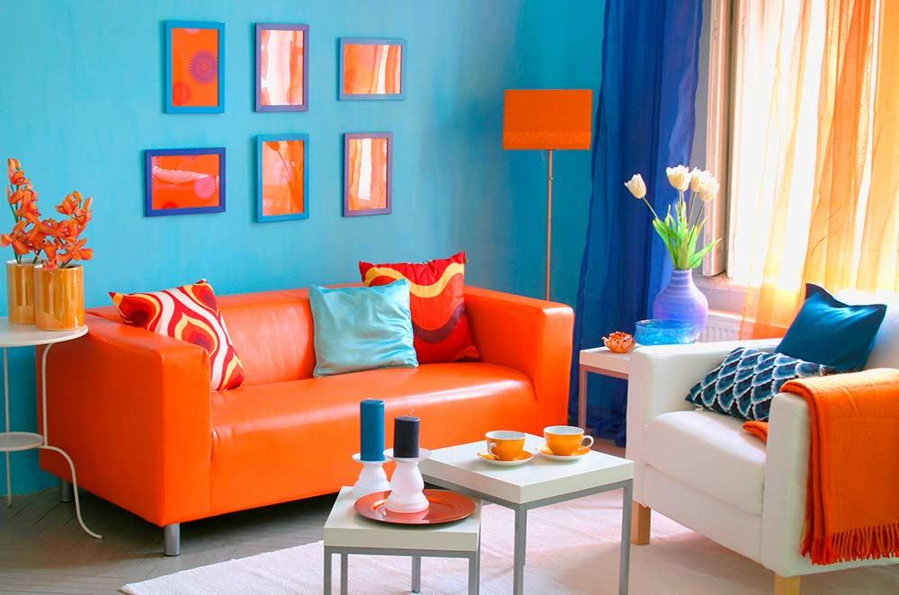 Выбор цветов для дизайна интерьера