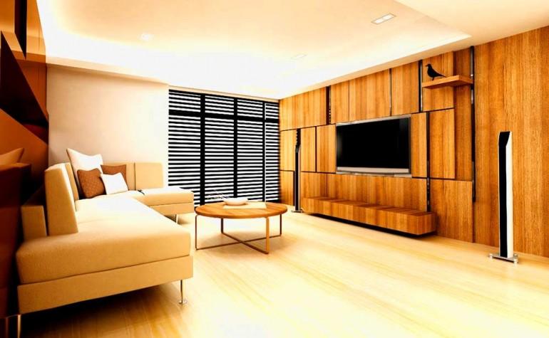 Деревянная-мебель-в-доме