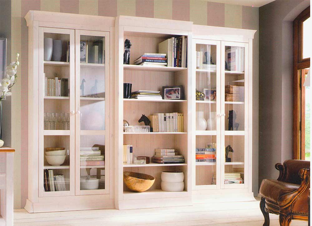 Закрытый-классический-шкаф-для-хранения-книг