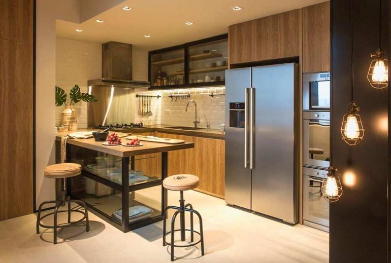 Красивый-и-простой-интерьер-кухни