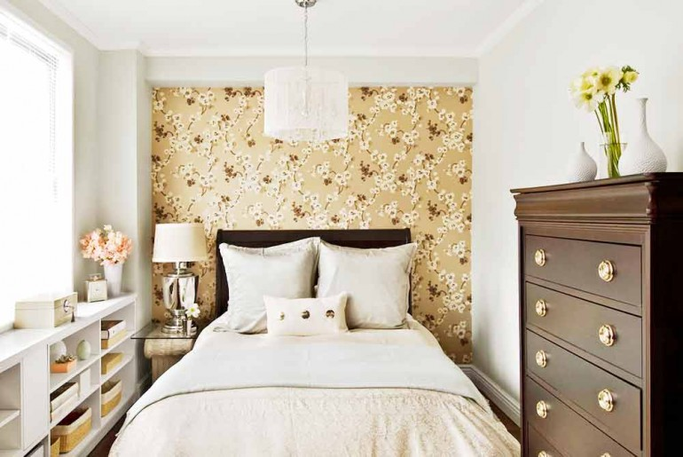 Минималистичная-спальня