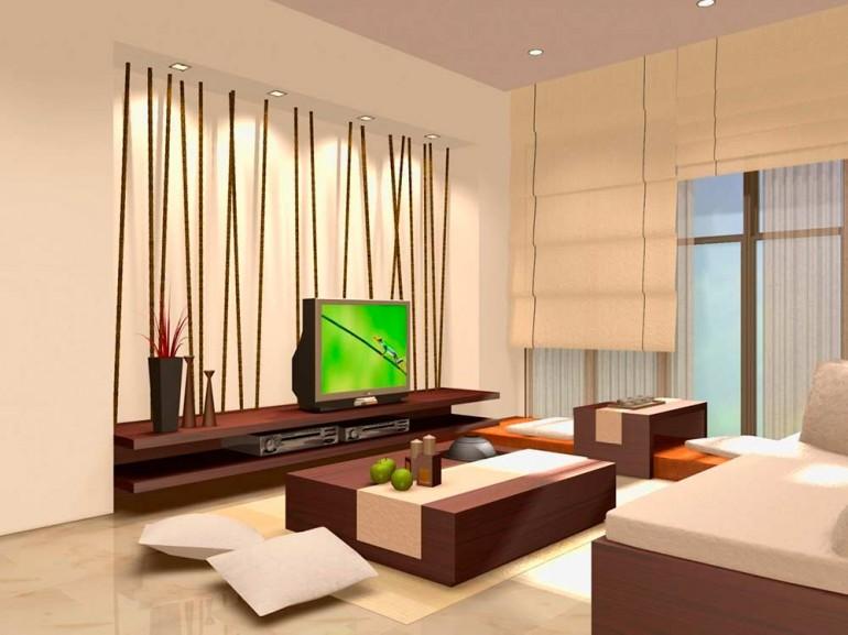 Пример-интерьера-в-японском-стиле