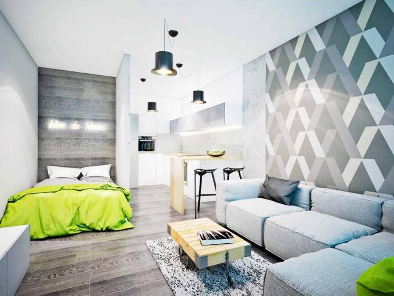 Серый-цвет-в-интерьере-спальни