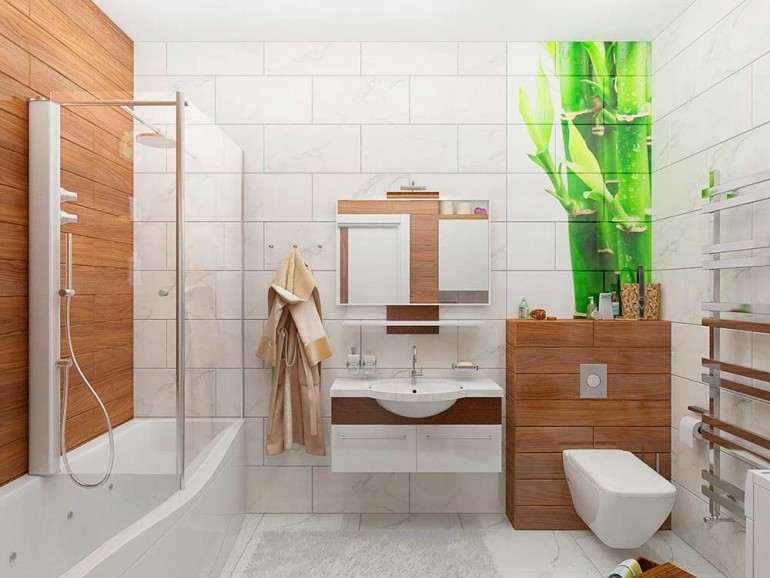 Современная-ванная-комната