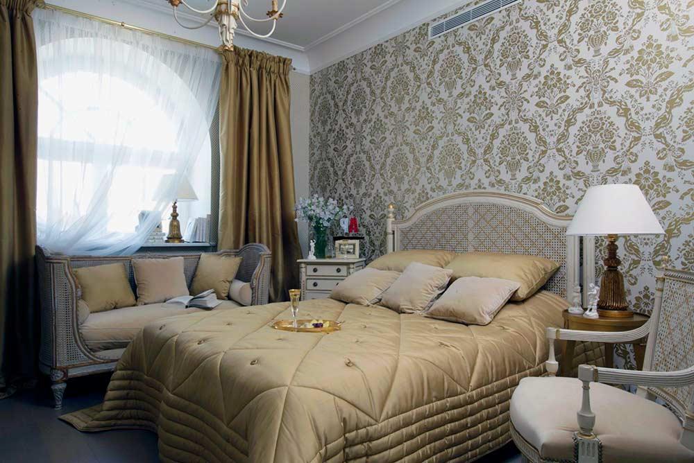 Спальня-в-стиле-ампир