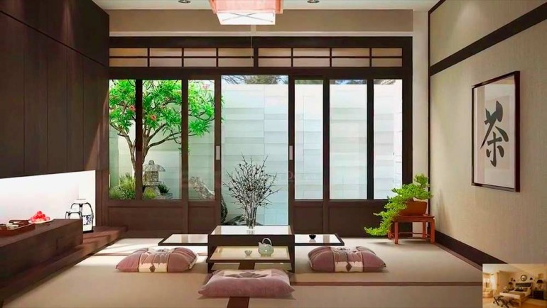 Японский-стиль-в-интерьере