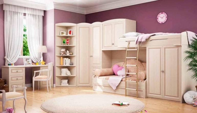 Двухэтажная мебель: азбука безопасности