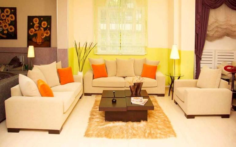 Интерьер-с-диванными-подушками