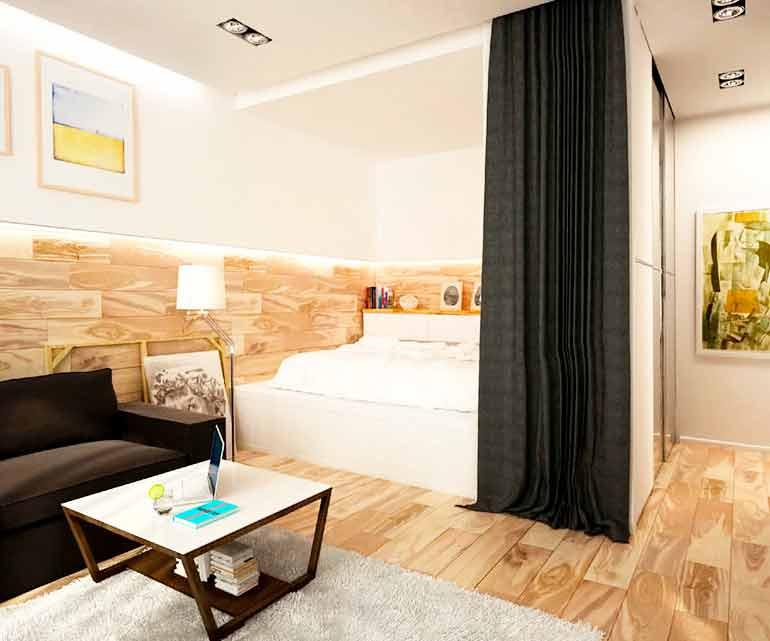 Большая жилая площадь - раздолье для дизайнера, дизайн типовых квартир