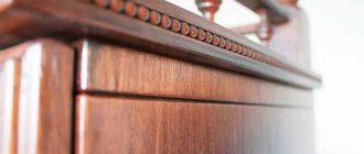 Чем замазать царапины на мебели?