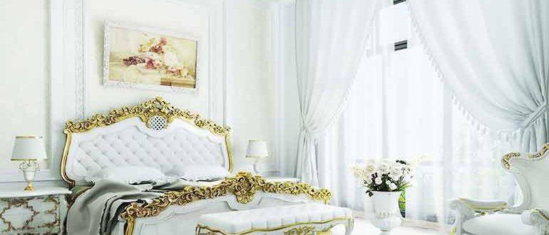 Интерьер спальни в стиле Ренессанс