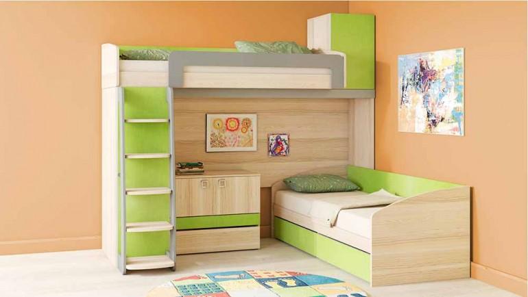 Как научить детей пользоваться двухэтажной мебелью
