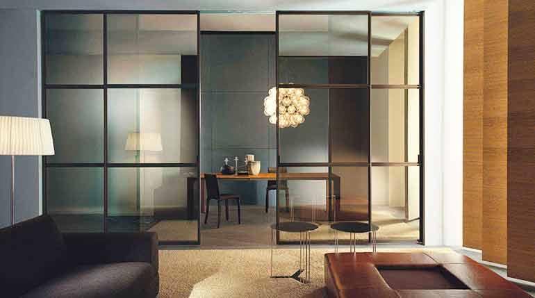 Перегородки - простое изменение облика помещения