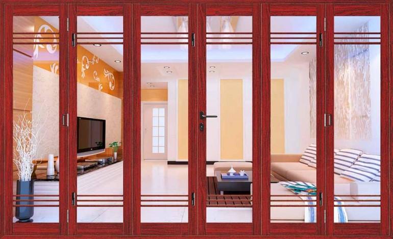 Плюсы и минусы дверей гармошка