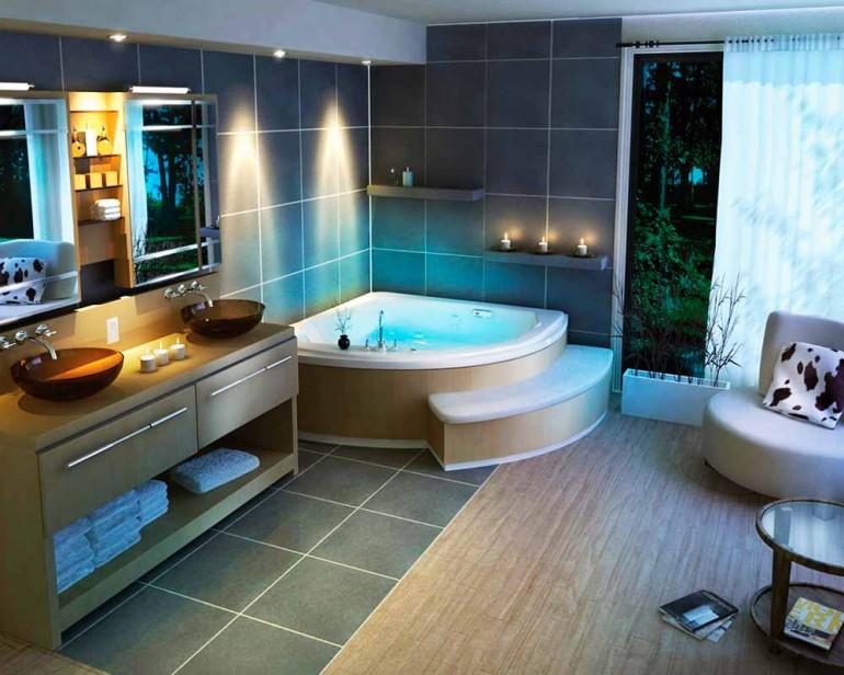 Стоит ли устанавливать джакузи в ванной