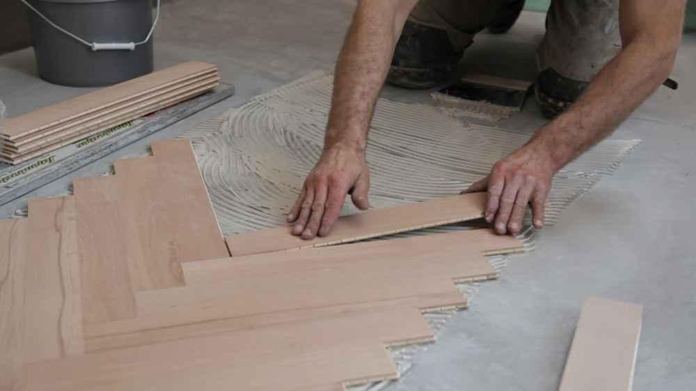 Методика укладки ламината на бетонное основание дома или квартиры