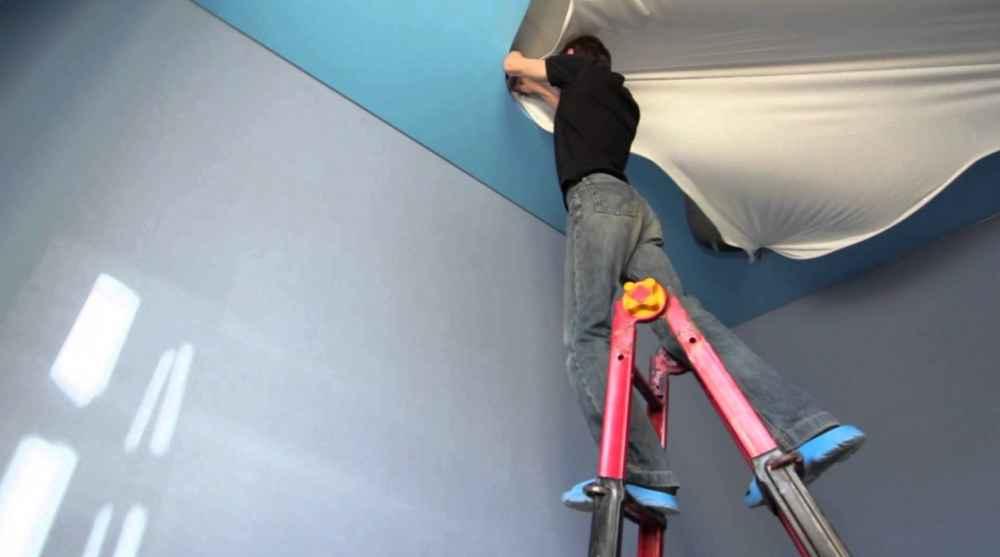 Монтаж натяжного потолка самостоятельно