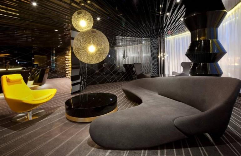 Стиль модерн в оформлении комнат отдыха