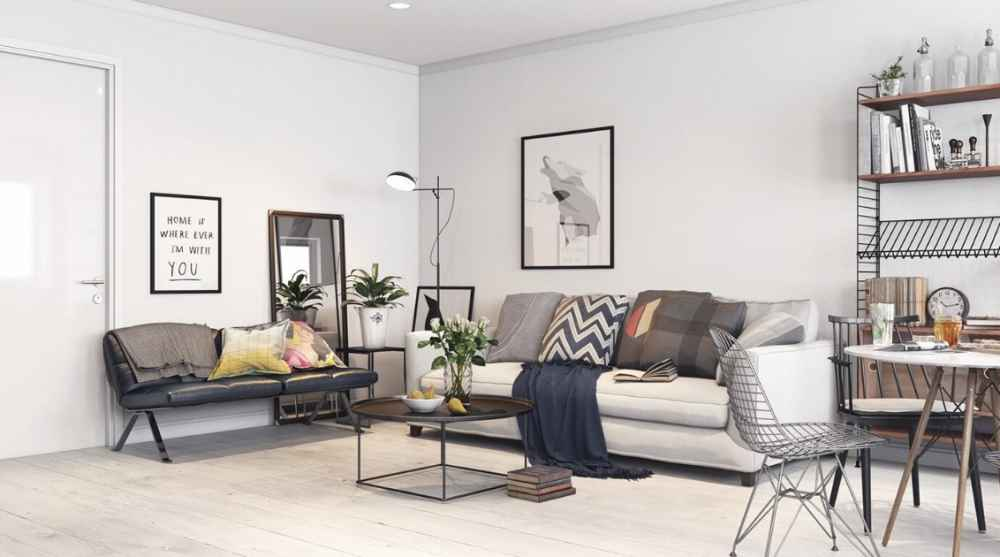 Скандинавский стиль в интерьере и мебели