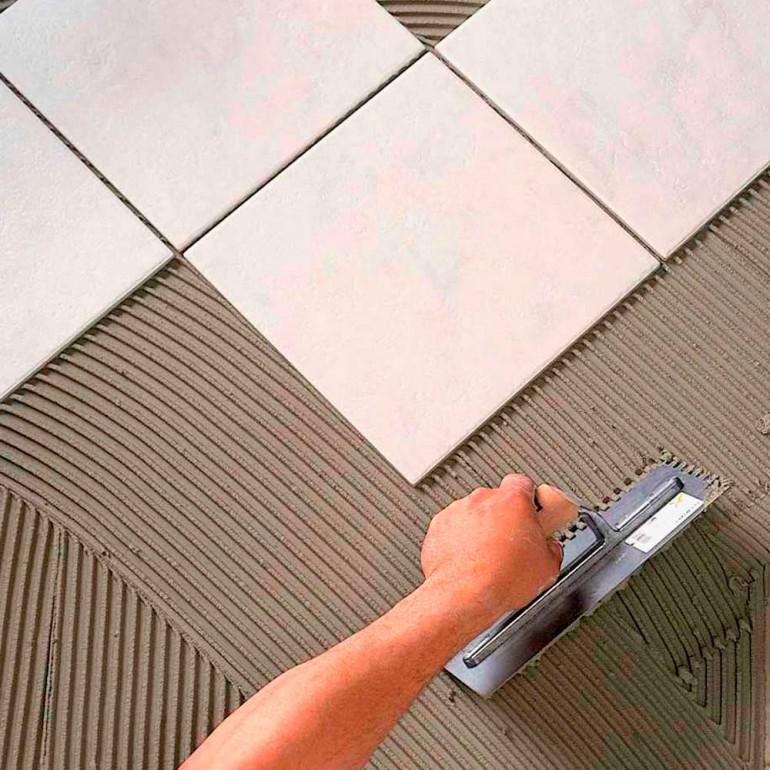 Клей для плитки на основе цемента