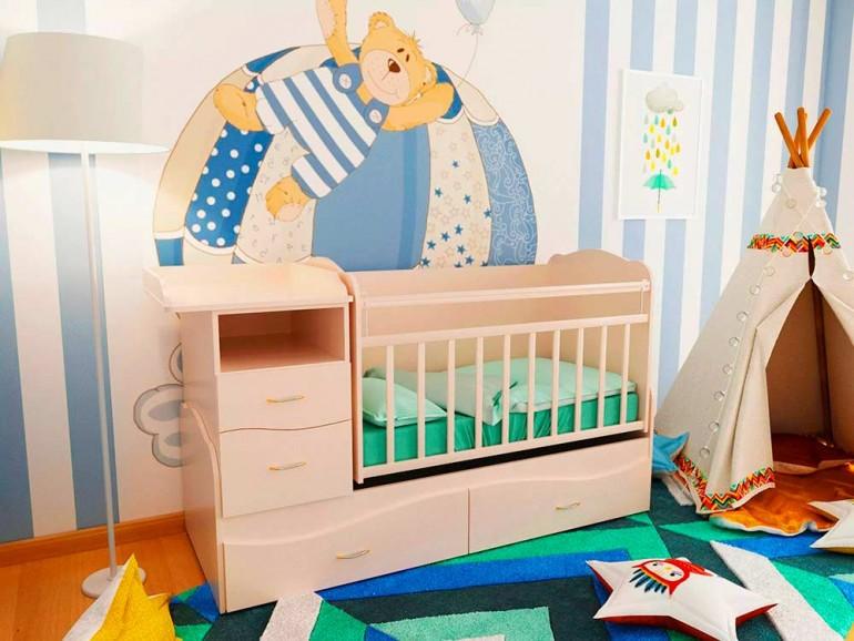 Выбор детской кроватки