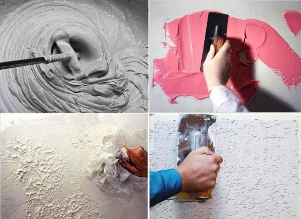 Как создать декоративную штукатурку своими руками