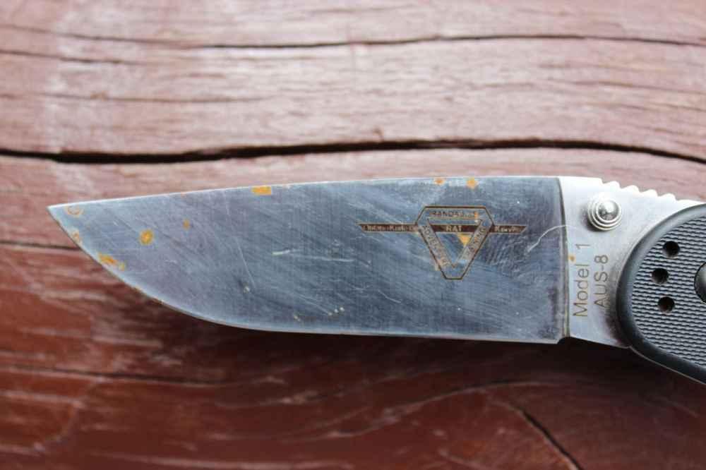 Заржавел нож? Как правильно избавиться от ржавчины на ноже чтобы она не появлялась