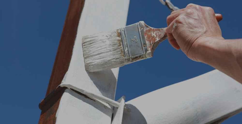 Как правильно проводить покраску металла чтобы он не развил и краска не трескалась