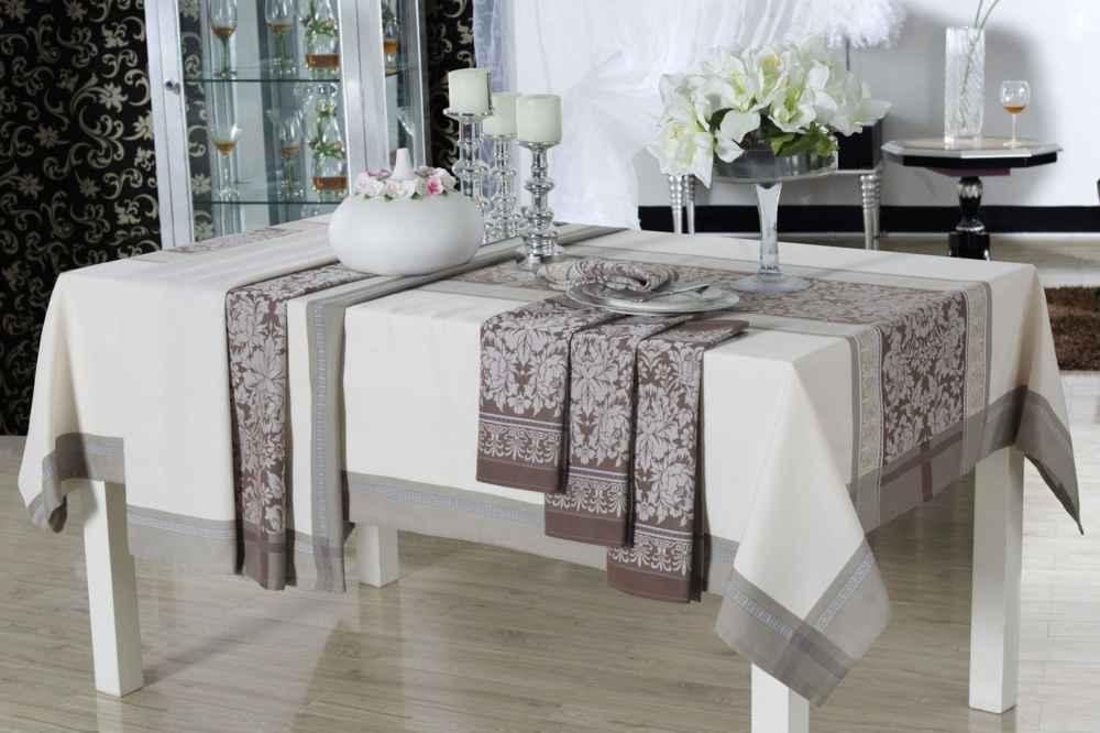 Из какой ткани выбрать скатерть для кухни и гостиной чтобы она прослужила дольше