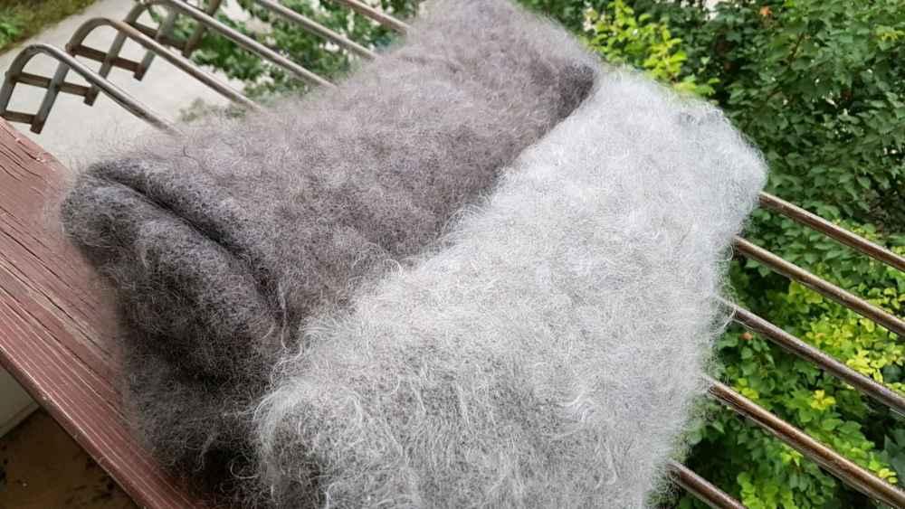 Как правильно выстирать и высушить пуховый платок чтобы не испортить его