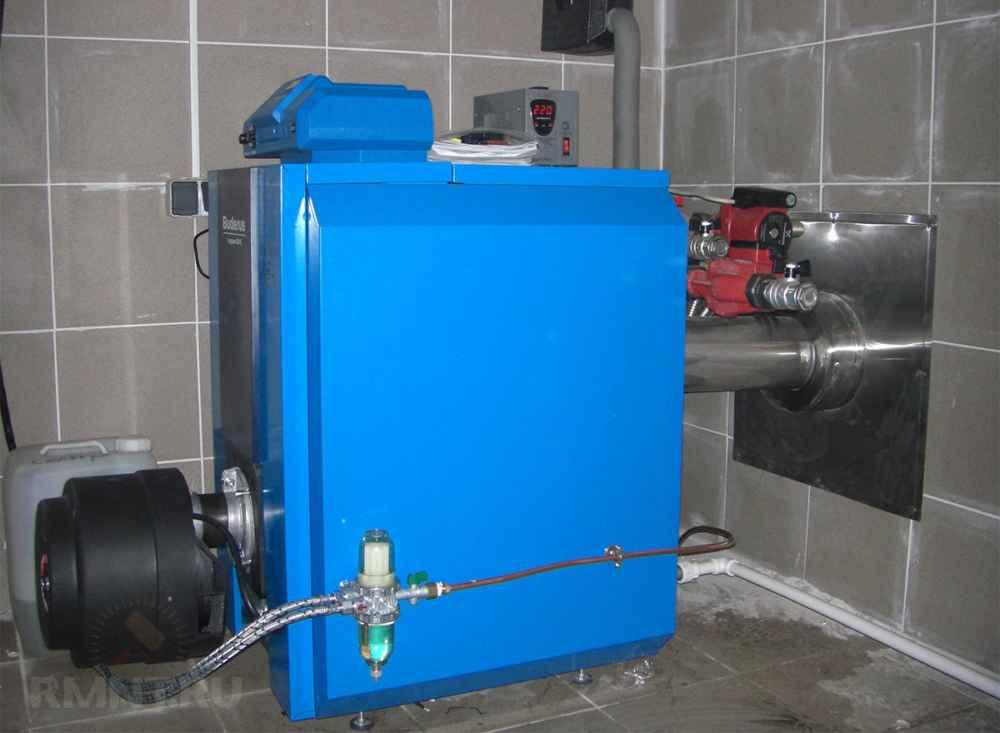 Как выбрать котел отопления на дизельном топливе