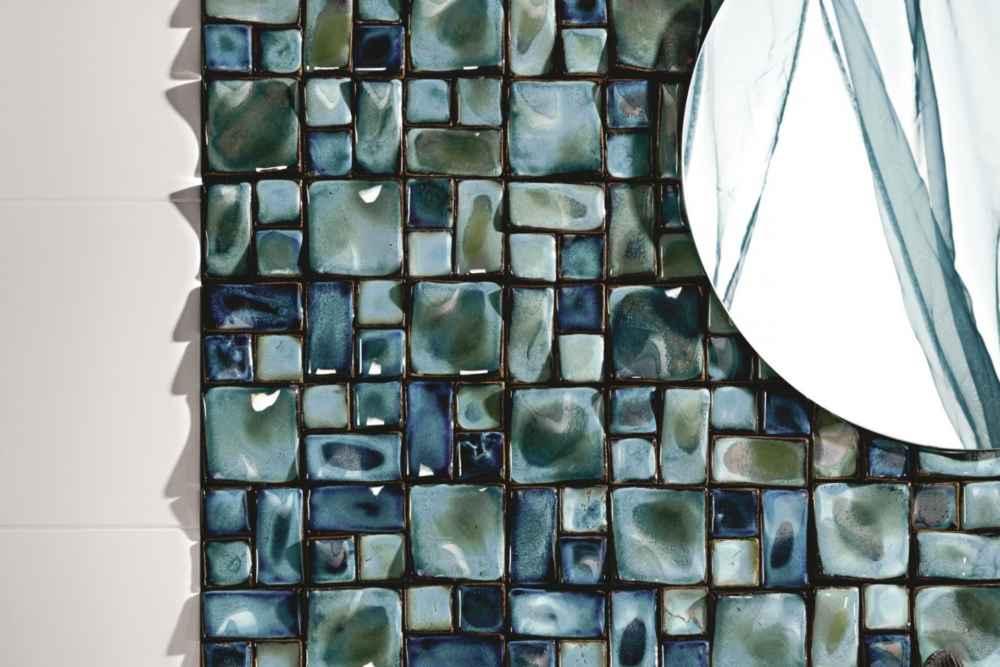 Как можно сэмитировать  мозаичную плитку, чтобы это смотрелось дорого и красиво