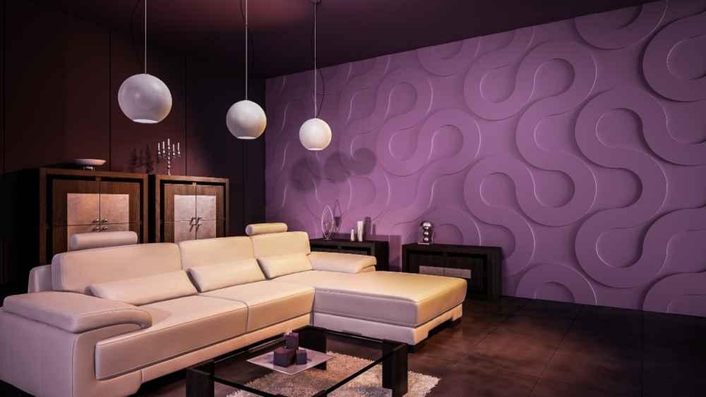 Как использовать 3Д панели в интерьере, делаем квартиру как вы видели в фильмах