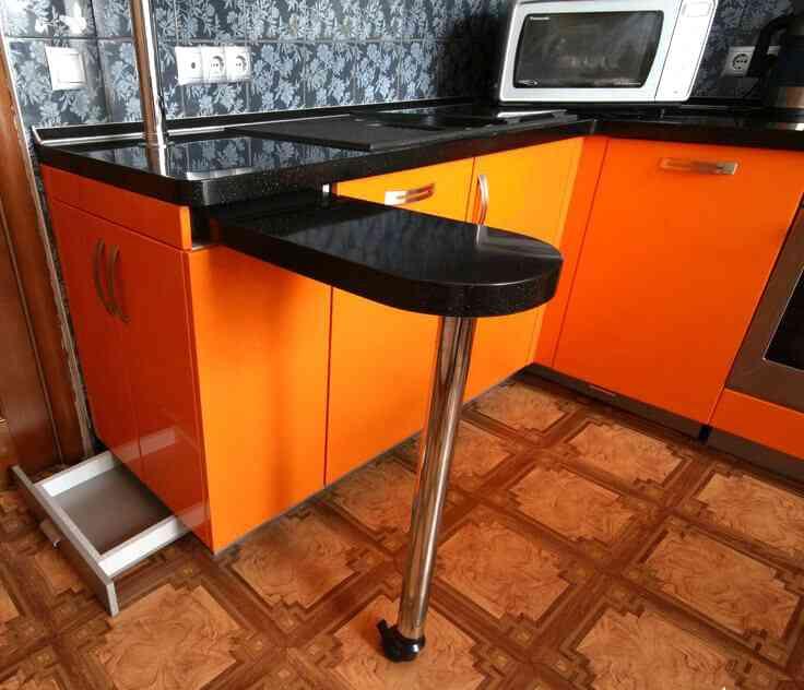 Для чего на самом деле нужна барная стойка на кухне