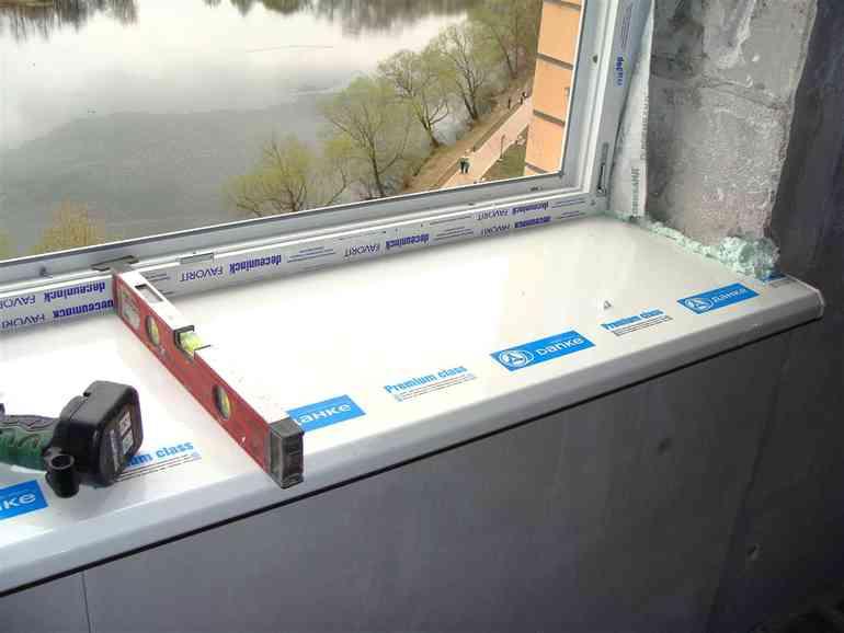 Как правильно установить пластиковые подоконники чтобы зимой не поддувало