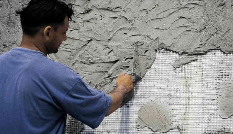 Штукатурка стен по сетке - секреты специалистов