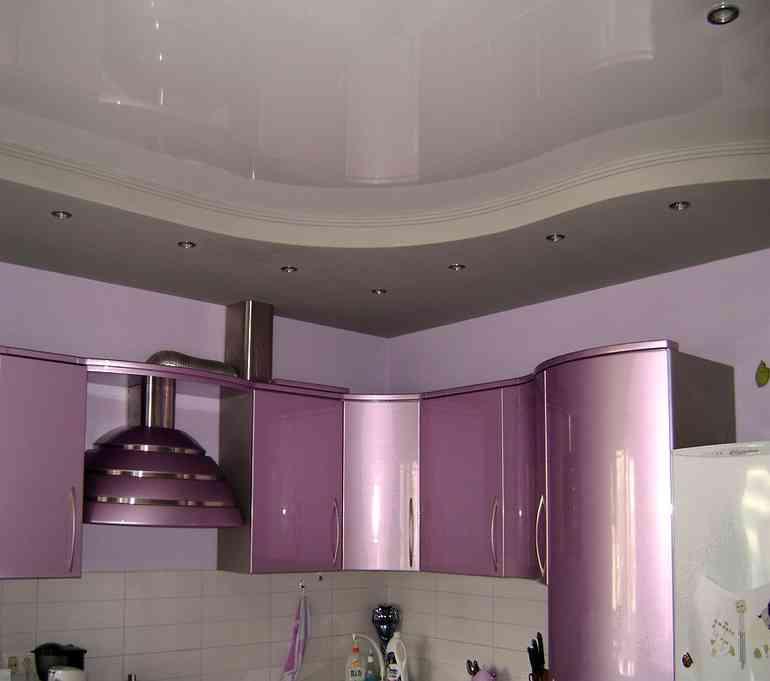 Потолок на кухне из гипсокартона - стоит ли делать?