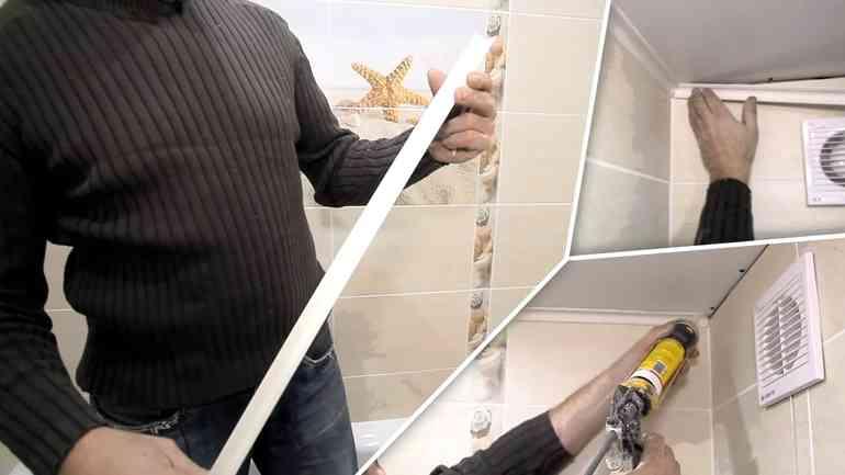 Почему обычно отваливается потолочный плинтус