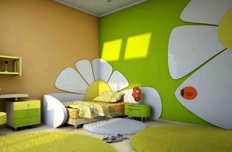 Выбираем безопасную краску в детскую комнату