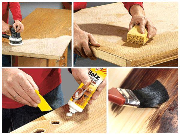 Как самостоятельно починить старую деревянную дверь
