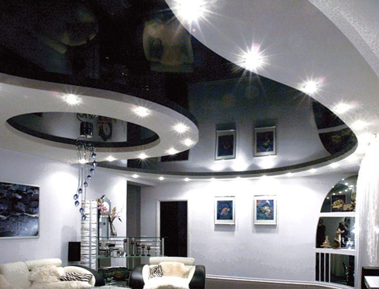 В какой комнате не стоит монтировать подвесные потолки