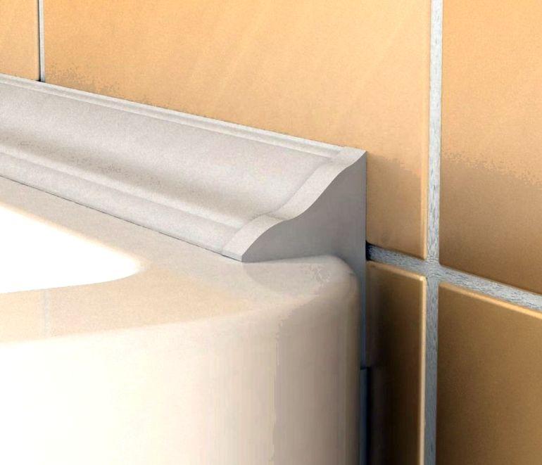 Как сделать идеальный силиконовый шов на бортиках в ванной