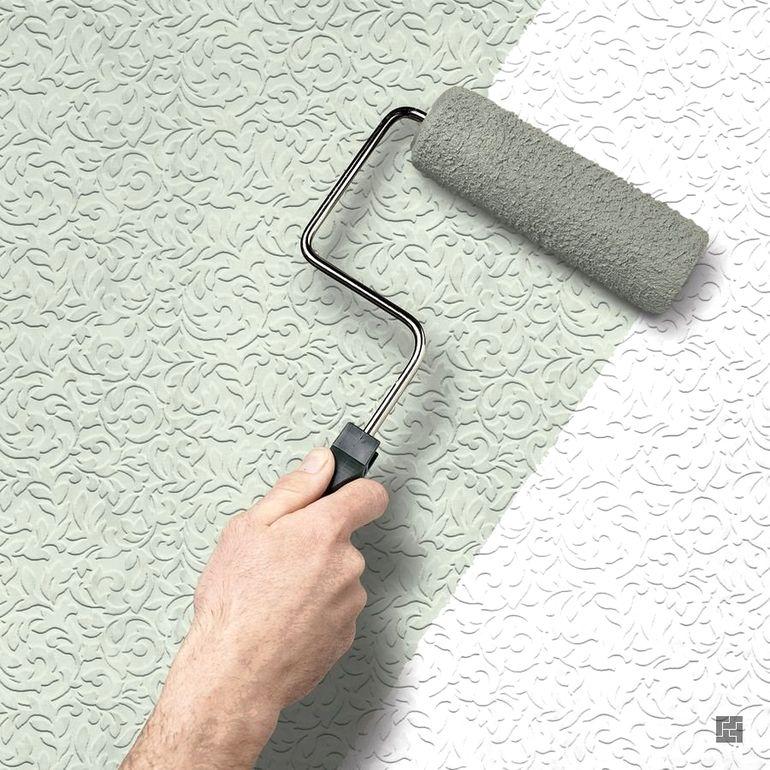 Как с помощью простой малярной ленты покрасить стены с 3Д эффектом