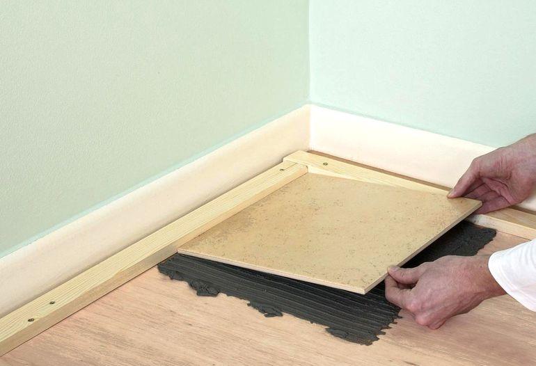 Почему не стоит класть плитку на деревянное основание