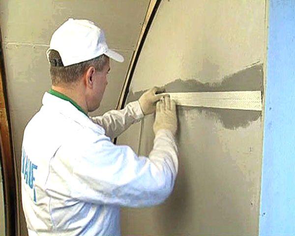 Как клеить виниловые обои на гипсокартонную стену без шпаклевки