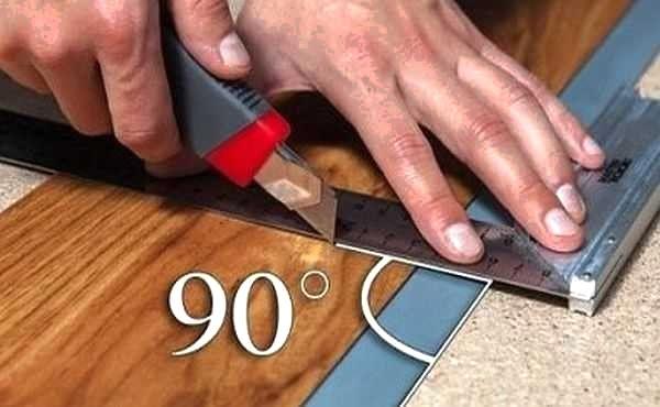 Как легко подпилить плашки ламината без специального инструмента