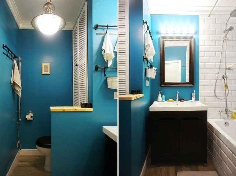 Как поклеить обои для ванной с учетом влажности в комнате