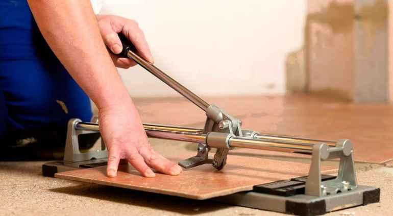 Как нарезать плитку если нет плиткореза под рукой