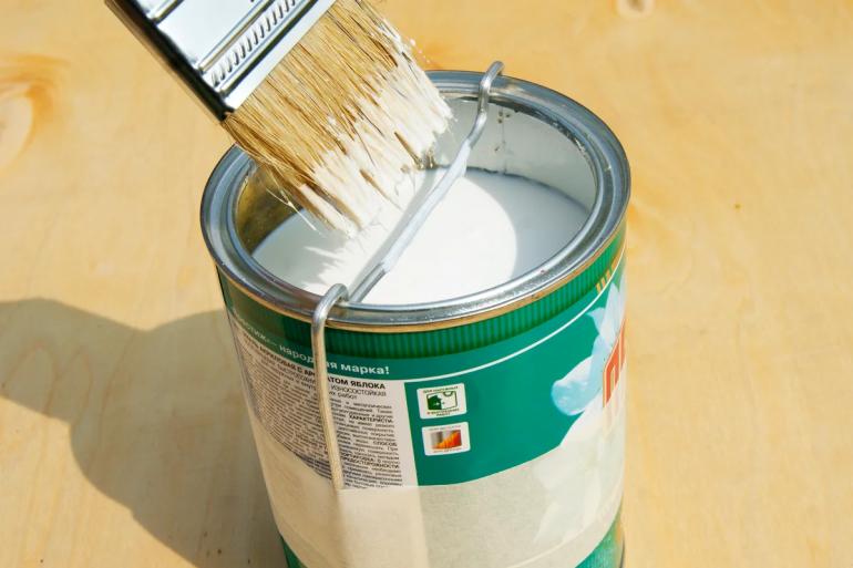 Простая уловка чтобы краска никогда не капала с кисти