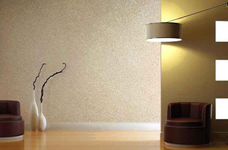 Веник, щетка и еще 3 неожиданных предмета для красивой фактурной отделки стен